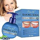 Backpulver Zahnpasta, Stain Removal Toothpaste, Fluoridfreie Zahnpasta, Reinigung der Zähne...