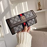 Taschen FrauenLadies Wallet Long Clutch Multi CardHolderFolding Wallet Mnzgeldbrse Large Capacity...