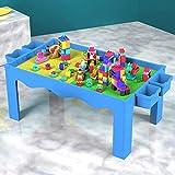 EDED Gebäude Kids Activity Table Set - 3 in 1 Gebäude Tisch, Craft Tisch und Gebäude Ziegel...