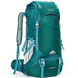 HOMIEE Wanderrucksack 50L, Herren Damen Wasserdichter Trekkingrucksack Reiserucksack Outdoor Wandern...