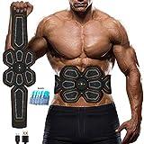 yunyu Bauchtrainer,Abs Stimulator Muskel Toner EMS Press Trainer Bauch Elektrostimulation USB...