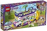 LEGO 41395 Friends Freundschaftsbus Set, Puppenhaus - Bus mit 3 Mini Puppen, Spielzeug ab 8 Jahren...