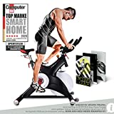Sportstech Indoor Speedbike SX500 | Deutsche Qualitätsmarke + Video Events & Multiplayer APP | 25kg...