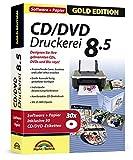 CD/DVD Druckerei 8.5 inkl. 30 CD/DVD Etiketten Gratis - CD/DVD und Blu-ray Covers gestalten - Für...