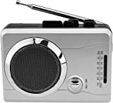 Mini Audio Retro Personal Kassettenspieler Wireless AM / FM Radio und Voice Radio Kassettenrecorder...