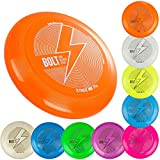 BOLT OneSevenFive Ultimate Frisbee Flying Disc! Fünf UV-Farben verfügbar! (Grün Schimmern)