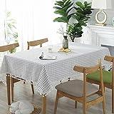 Home's Tischdecke PVC Wasserdicht Und Ölbeständig Tischset Tischdecke Rechteckige Tischdecke Tuch...