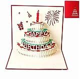 Grußkarten Geburtstag, Deesos Geburtstagskarte Geschenk für Ihre Verwandten, Freunde und Liebhaber...