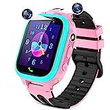 Kinder Smartwatch Telefon Uhr für Kinder, Smartwatch Kinder mit Anruf SOS 14 Spiele MP3 Musik...