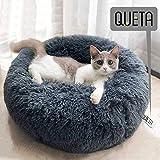 Queta Flauschiges Hundebett Plüsch Katzenbett Schöne Tierbett 60 * 20cm Warmes Haustierbett...