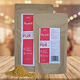 Carnisano BeutePur Plus Hagebuttenpulver aus ganzen Früchten für Hunde und Katzen (400 g)
