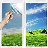 h Sonnenschutzfolie Selbstklebend Fenster Fensterfolie Verdunkelungsfolie Wärmeisolierung 99%...