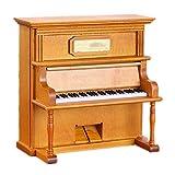 Zacheril Musikalische Schmuckschatulle Holz Klavier Valentinstag Weihnachten Handwerk Spieluhr...