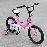 Kinderfahrrad - 16 Zoll Fahrrad für Kinder Cruiser,Jugendfahrrad für Jungen und Mädchen mit 6...