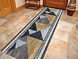 Korridor Teppich- Flur Teppich Läufer, Modern Minimalist Style, Breite 60cm / 80cm / 100cm...