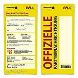 30 x Konfirmation Einladungskarten individueller Text DIN Lang - Paket Benachrichtigungskarte