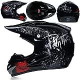 Berrd Neuer Erwachsener Offroad Motorradhelm Downhill Mountainbike DH Kapuze Helm Helmkrempe...