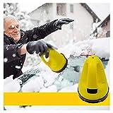 XIMIN TIREOW Elektrischer Schnee und Eiskratzer Batteriebetrieben 15 Minuten Autofenster...