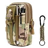 flintronic Taktische Hüfttaschen, Militär Kompakt Gürteltasche Multifunktional Bauchtasche Tasche...