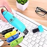 CRITY Staubsauger, Tastatur Reinigungsbürste Mini Multifunktional Reiniger USB Aufladen Pinsel...