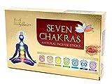 Rucherstbchen Set 7 Chakren, indische Premium Masala Stbchen, 7 Sorten Muladhara, Swadhisthana,...
