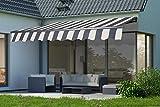 empasa elektrische Gelenkarmmarkise Markise Sonnenmarkise Sonnenschutz Verschiedene Größen und...