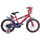 Spiderman 16 Zoll Marvel Kinderfahrrad Fahrrad für Kinder ab ca. 4 Jahren