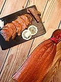 Schottischer Räucherlachs - Der mit der roten Kordel - ca.1.2kg - ✔ Extrem Mild im Geschmack ✔...
