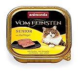 animonda Vom Feinsten Senior Nassfutter, fr ltere Katzen ab 7 Jahren, mit Geflgel, 32 x 100 g