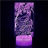 TCBHADH Gebrochenes Basisnachtlicht,3D-Nachtlicht, farbenfrohes Nachtlicht, LED-Nachtlicht,...