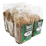 BioKitchen - Bio-Leinsamen Geschrotet (6 x 500g)
