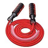 MICHETT Springseil Speed Rope Fitness Springseil für Männer und Frauen Verstellbares und...
