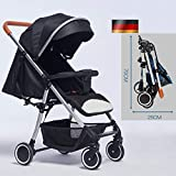 AP.DISHU Baby Stroller, German Baby Stroller Lightweight Folding Ultra Light Portable Stroller,...