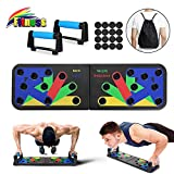 Bteng 13 in 1 Liegestütze Brett, Multifunktionale Fitness Geräte Push Up Board, Gymgrizzly Home...