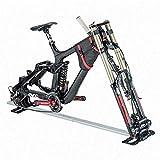 evoc Fahrradhalterung aus Aluminium, ideal fr den Transport Ihres Fahrrads in Einer Transport-Tasche...