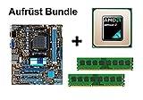 Aufrüst Bundle - ASUS M5A78L-M LE + Athlon II X3 455 + 4GB RAM #59501