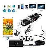 WHYTT Compound Mikroskop USB-Mikroskop mit Kamera-Vergrößerung, Endoskop, Mini-Kamera,...