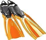 TUSA Switch Pro Hyflex - tauchen flossen verstellbare (Orange, M)