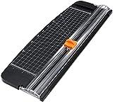 Flintronic Papierschneider A4 Papierschneidegerät Tragbare Papierschneidemaschine mit Fingerschutz...