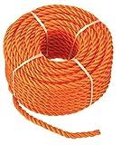 Connex Mehrzweckseil Polypropylen, 6 mm, 20 m, orange, B34082
