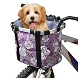 Rengzun Fahrradkorb Vorne Abnehmbare Fahrrad Lenker Korb Fahrradtasche Easy Install wasserdichte...