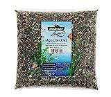 Dehner Aqua Aquarienkies Palaro, Edelkies, Krnung 3 - 5 mm, 5 kg, wei/grau/schwarz