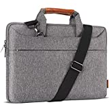 DOMISO 17 Zoll Wasserdicht Laptop Tasche Aktentasche Schultertasche Notebooktasche Business für...
