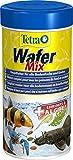 Tetra Wafer Mix - Fischfutter für alle Bodenfische (z.B. Welse) und Krebse, für gesundes Wachstum...