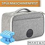 MAHEWA Khltasche 4L Klein Lunch-Tasche Thermo-Tasche | Wasserdichter Einsatz Entnehmbar...