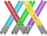 Boyigog Generisch Aufblasbare Star Wars Lichtschwert 10 Stück Schwert Stick Ballons, 75cm...