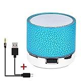 Tragbarer kabelloser Bluetooth-Lautsprecher Bunter Licht-Sound-Lautsprecher Mini-Subwoofer für...