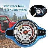WEIYKUN Car Thermostat Spur Kühlerdeckel Tankabdeckung Wassertemperaturanzeige Dienstprogramm...