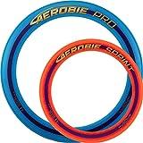 Aerobie Pro Wurfring Sprint Frisbee Ring Wurfspiel Set Pro Sprint Ring (Blau / Orange)