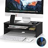 1home Bildschirmständer Notebooktisch Notebookständer Laptopständer Computertisch 420mm Breit 2...